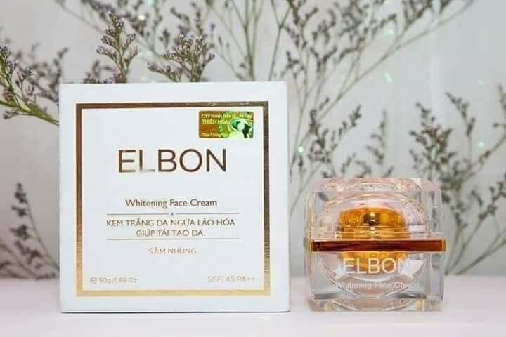 Kem dưỡng trắng da Mặt - ngừa lão hóa Elbon