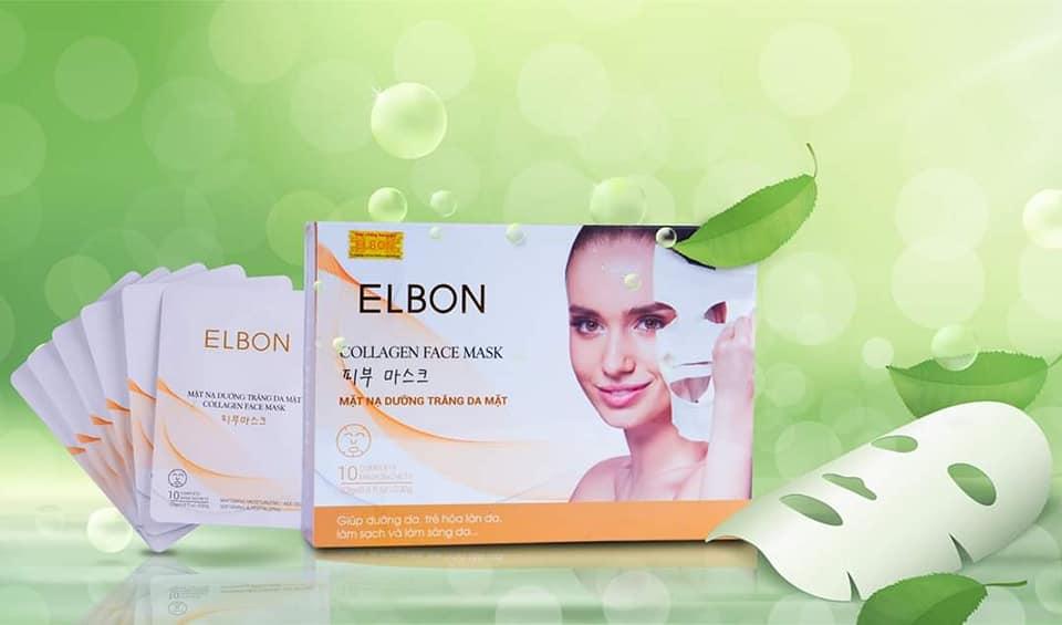 Mặt nạ Collagen Elbon